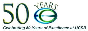 ECE 50 Years of Excellence logo