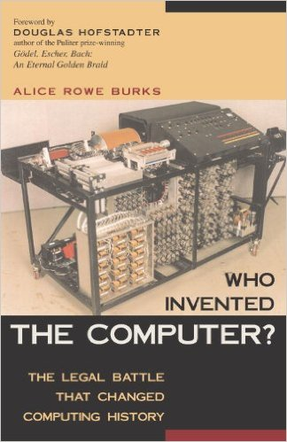 Cover image for the book 'Who Invented the Computer?'