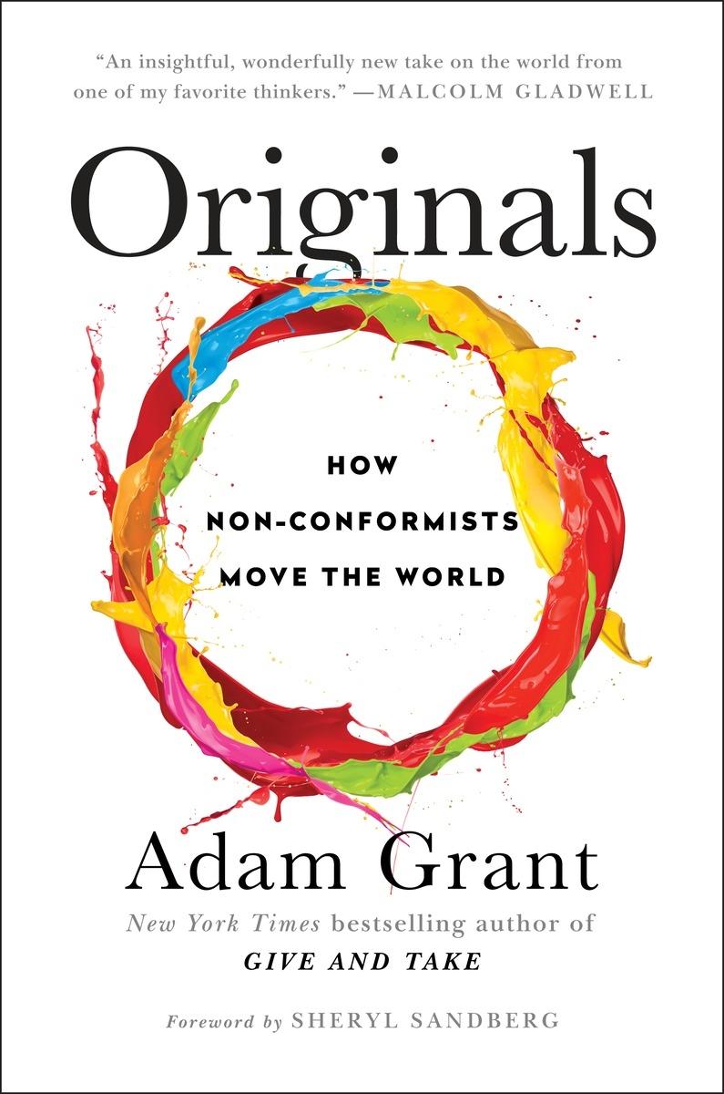 Cover image of Adam Grant's book 'Originals'