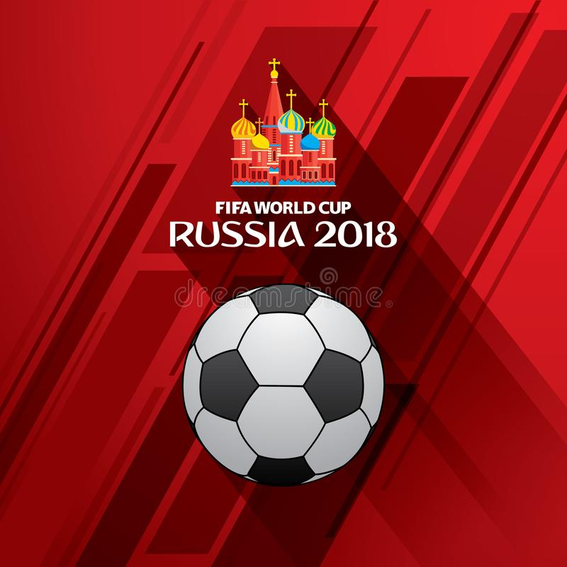 d8fca803ef ... FIFA World Cup 2018 square logo with soccer ball