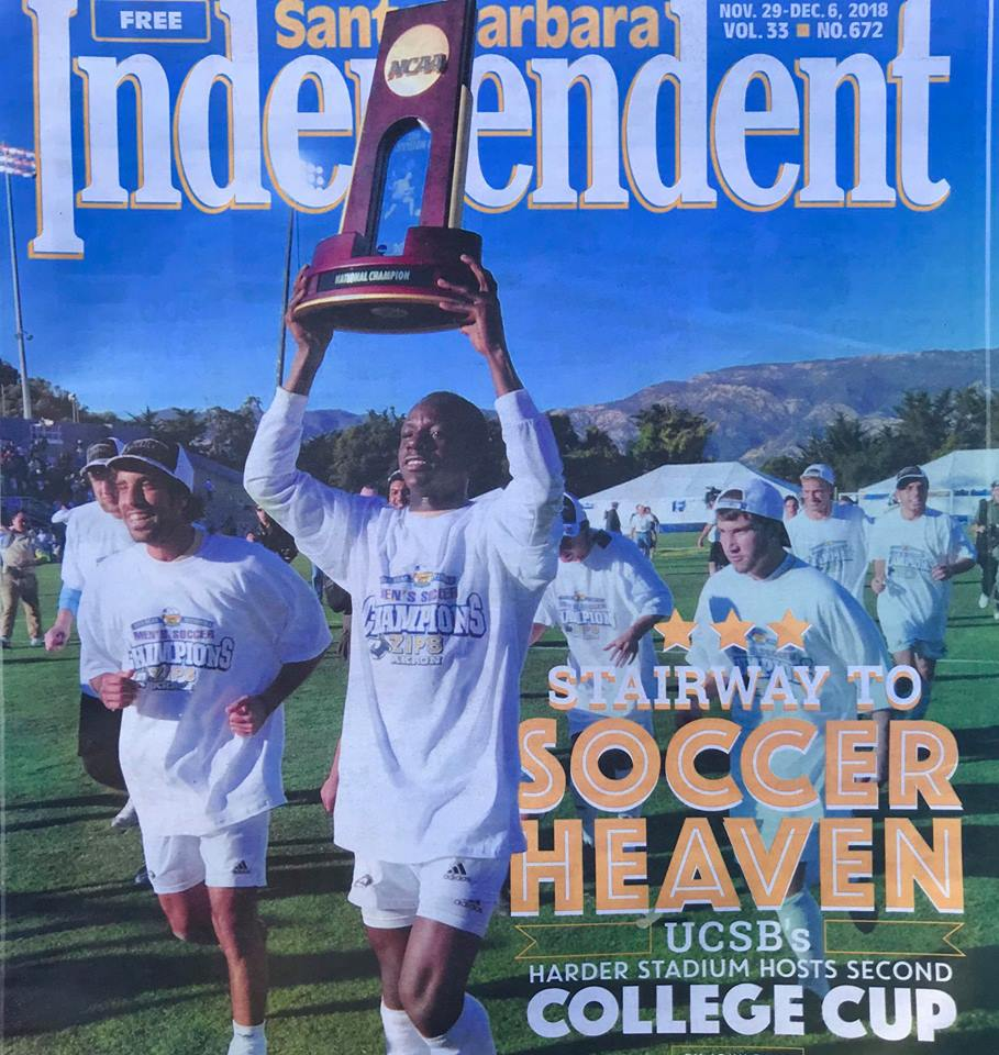 Behrooz Parhami Shirt Tribute To Star Wars Doctor Who Forbidden Planet Short Cover Of Santa Barbara Independent About The 2018 College Cup