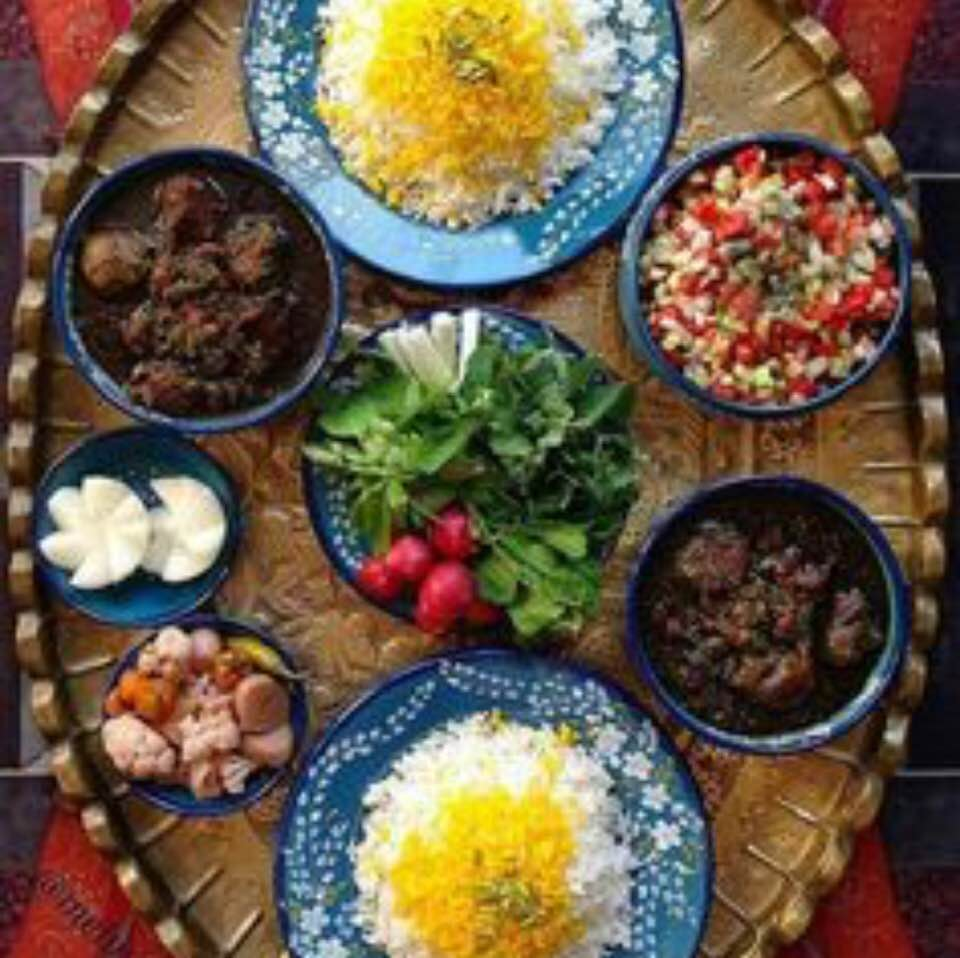 Behrooz Parhami Defeat Switch Loop Wiring Diagram Mouthwatering Selections Of Iranian Cuisine From Internet Sources Photo 3