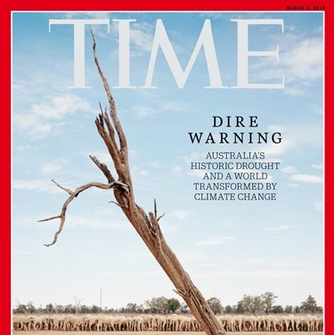 b01557b7f ... Time magazine cover  Climate change is transforming our planet