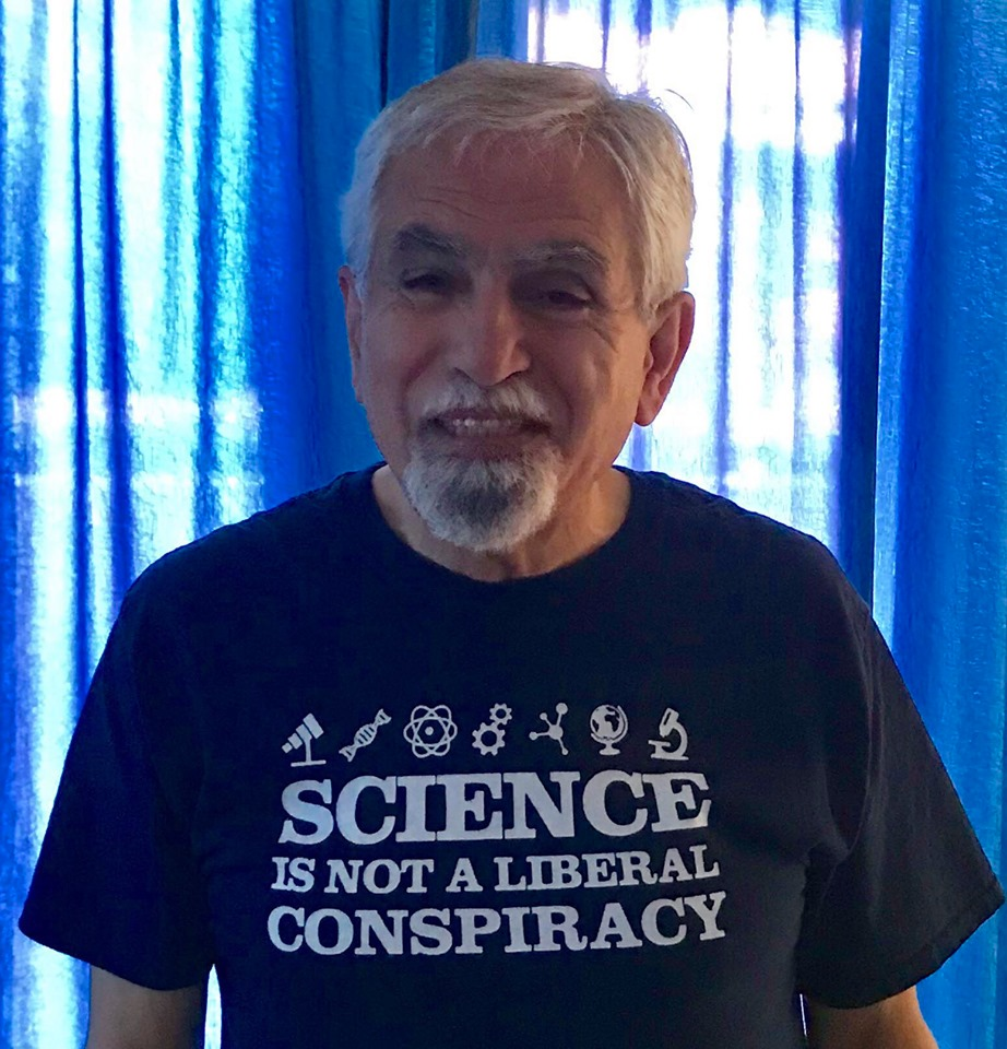 65027d39bb7 ... March for Science 2019  My T-shirt inscription reads  Science Is Not a  ...