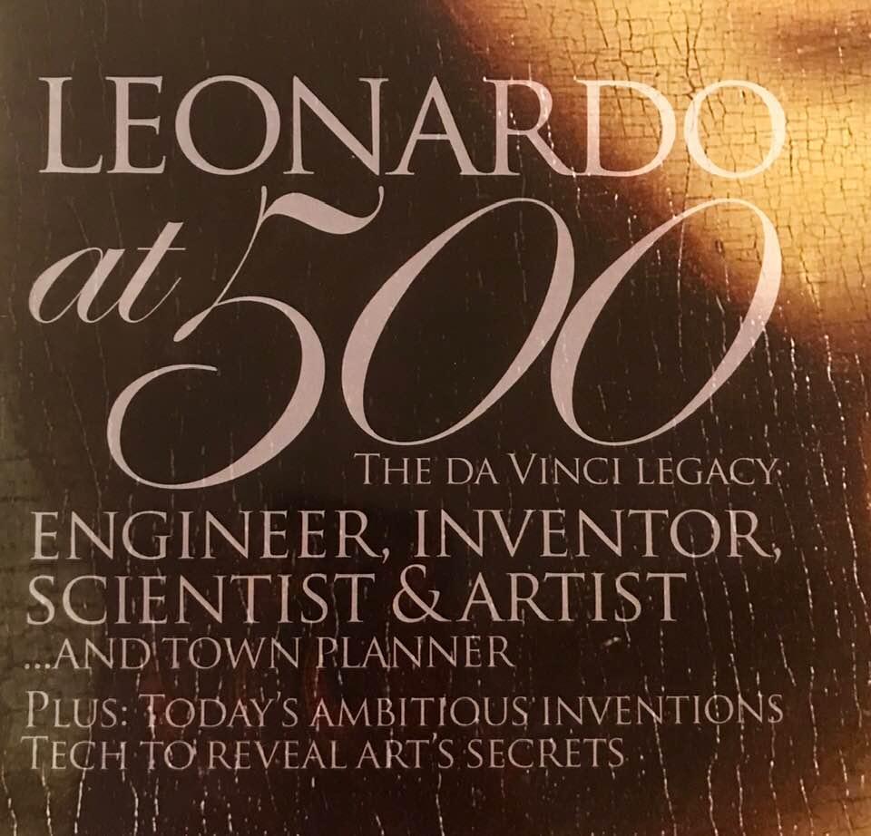 6e237496a5 E&T magazine's June 2019 cover image: Celebrating Leonardo da Vinci's  contributions 500 years after his ...