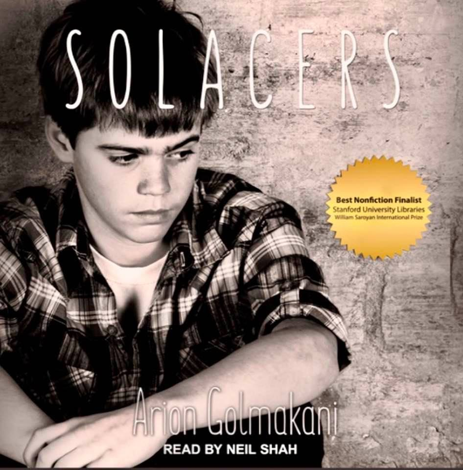 Cover image of Arion Golmakani's 'Solacers' (English)