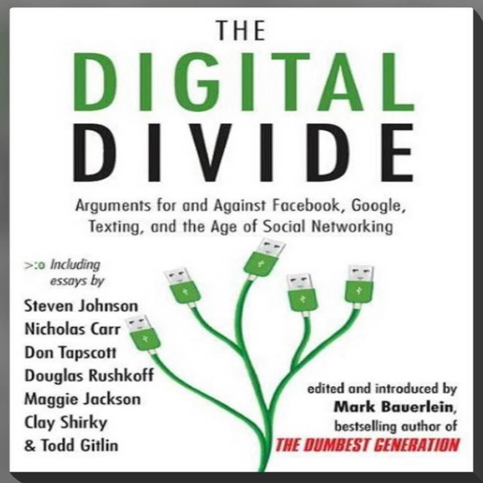 Cover image for Mark Bauerlein's 'The Digital Divide'