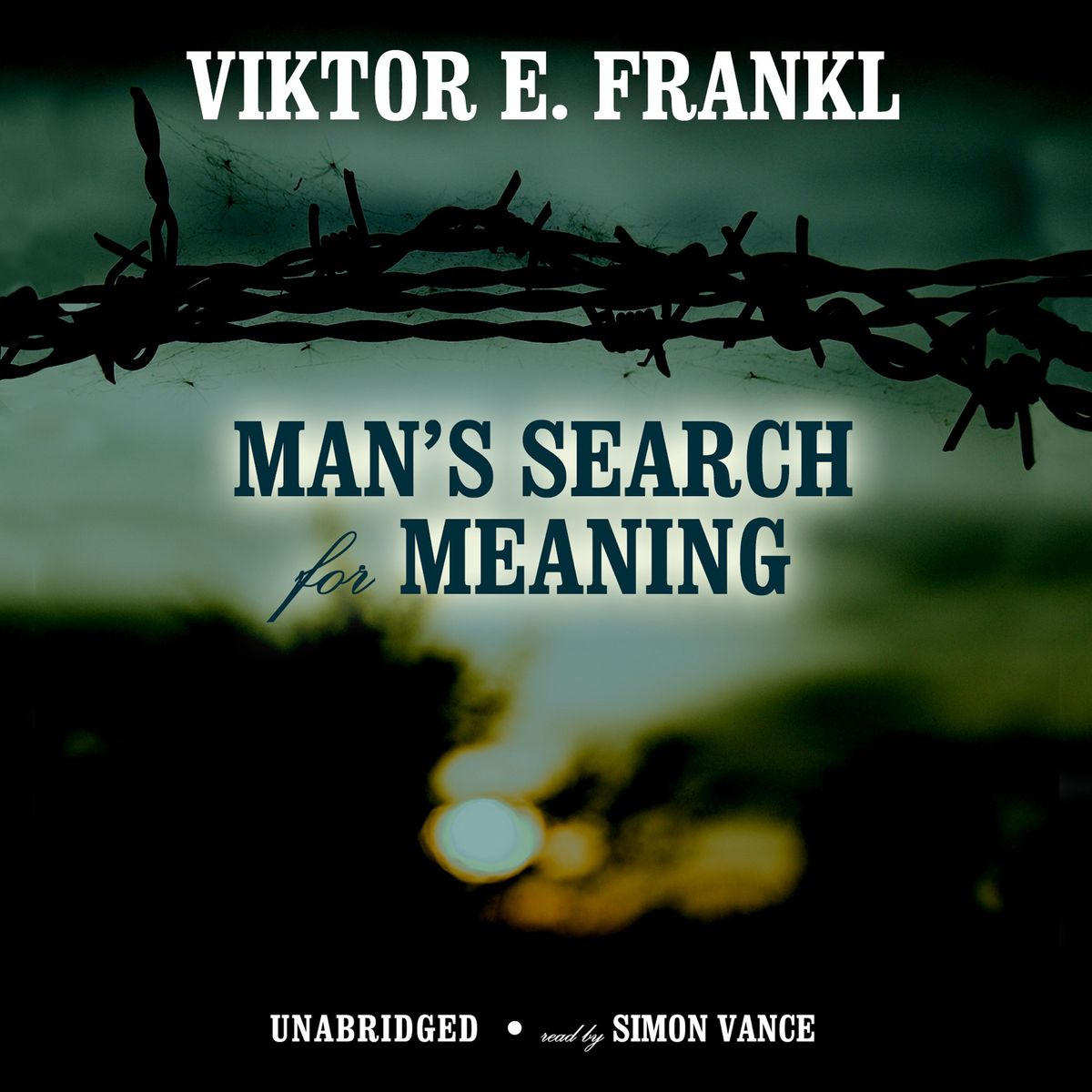 Cover image for Viktor E. Frankl's 'Man's Search for Meaning'