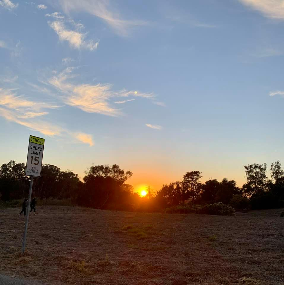 Photos I took during my walk in Goleta, CA, in the late afternoon of Wednesday, 2020/12/02: Sunset