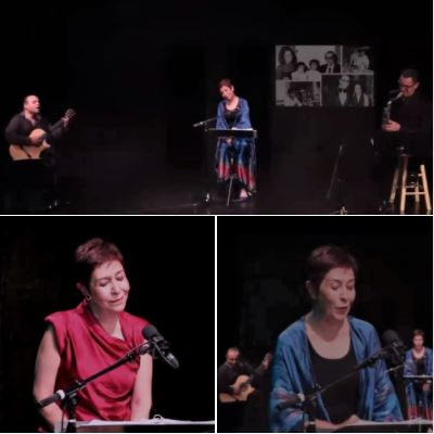 Ziba Shirazi tells/sings the life story of Mariam Safinia in a two-hour on-line concert