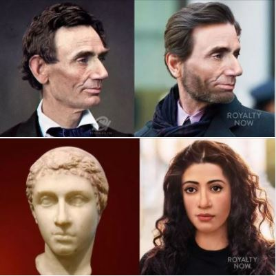 Artist Becca Saladin reimagines history's most-powerful figures: Lincoln & Cleopatra