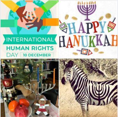 Happy International Human Rights Day and Hanukkah!