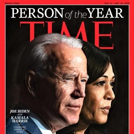 Time magazine's Person of the Year: The team of Joe Biden and Kamala Harris