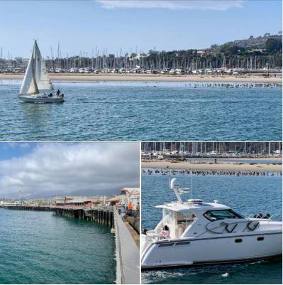 Photos snapped on Santa Barbara's Stearns Wharf on 12/11