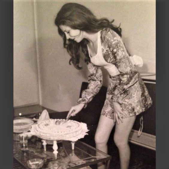 Birthday in Iran, 1973: Photo of this unidentified woman appears among other obscure historical photos