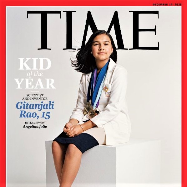 Kid of the Year: Time magazine honors Gitanjali Rao, developer of a mobile device to detect lead in drining water