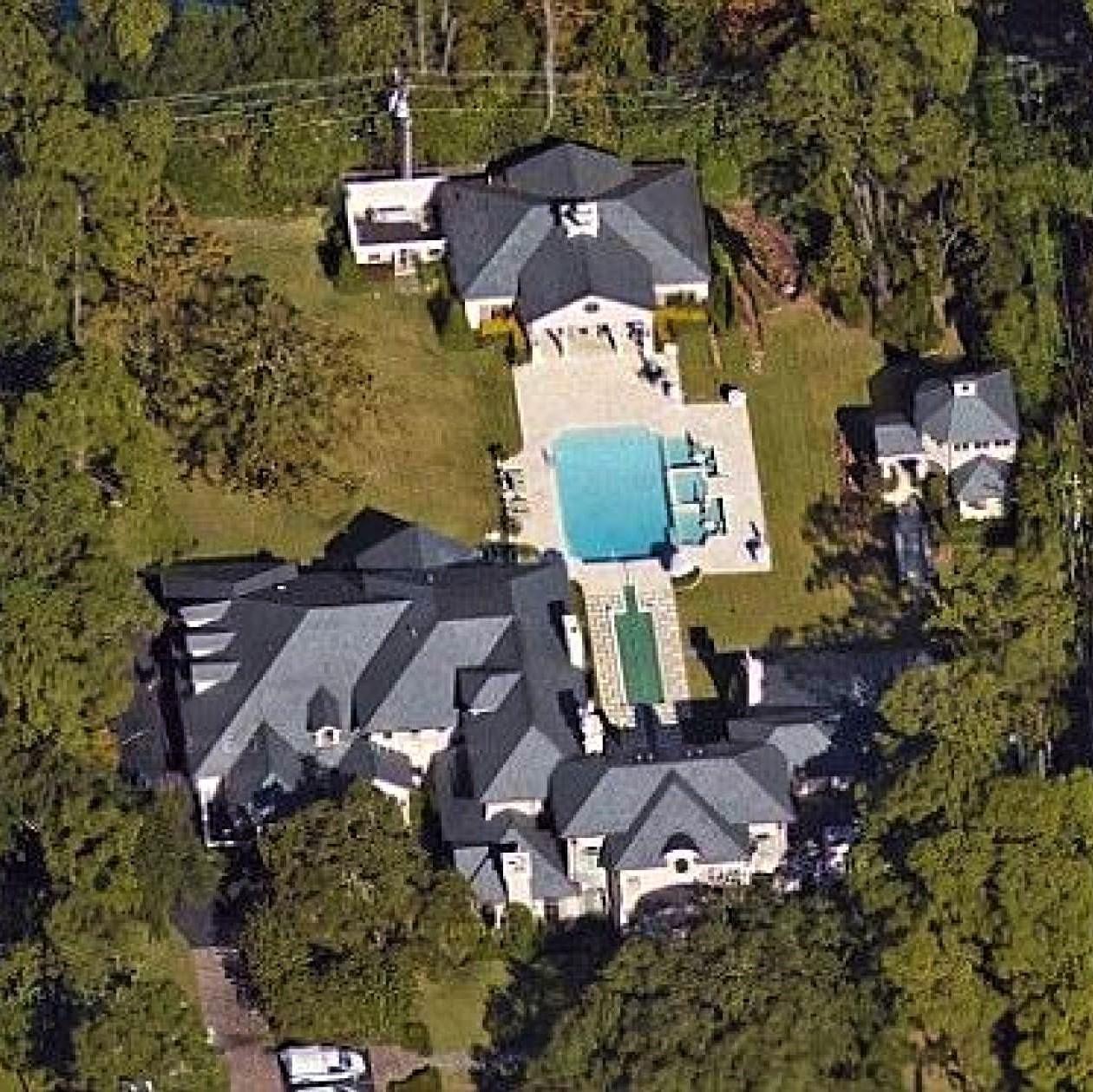 Televangelist Joel Osteen's mansion in Houston, Texas
