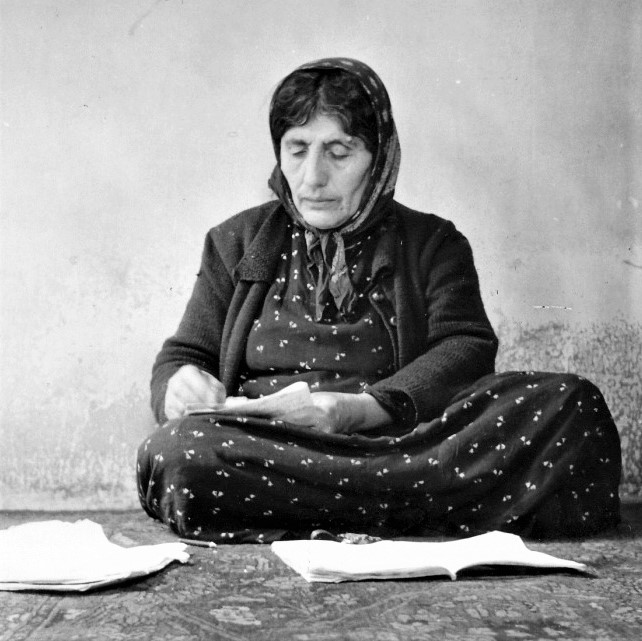 An undated photo of my paternal grandmother, Sorahi