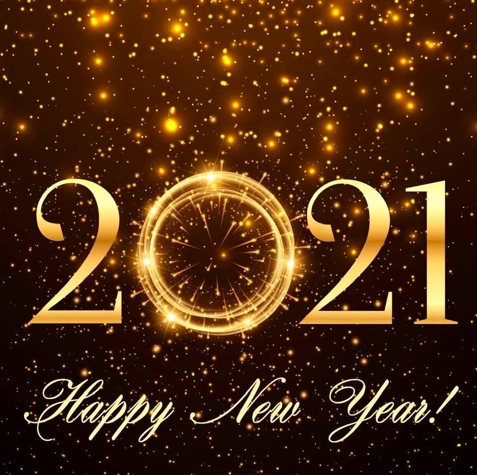 Happy New Year, design 1
