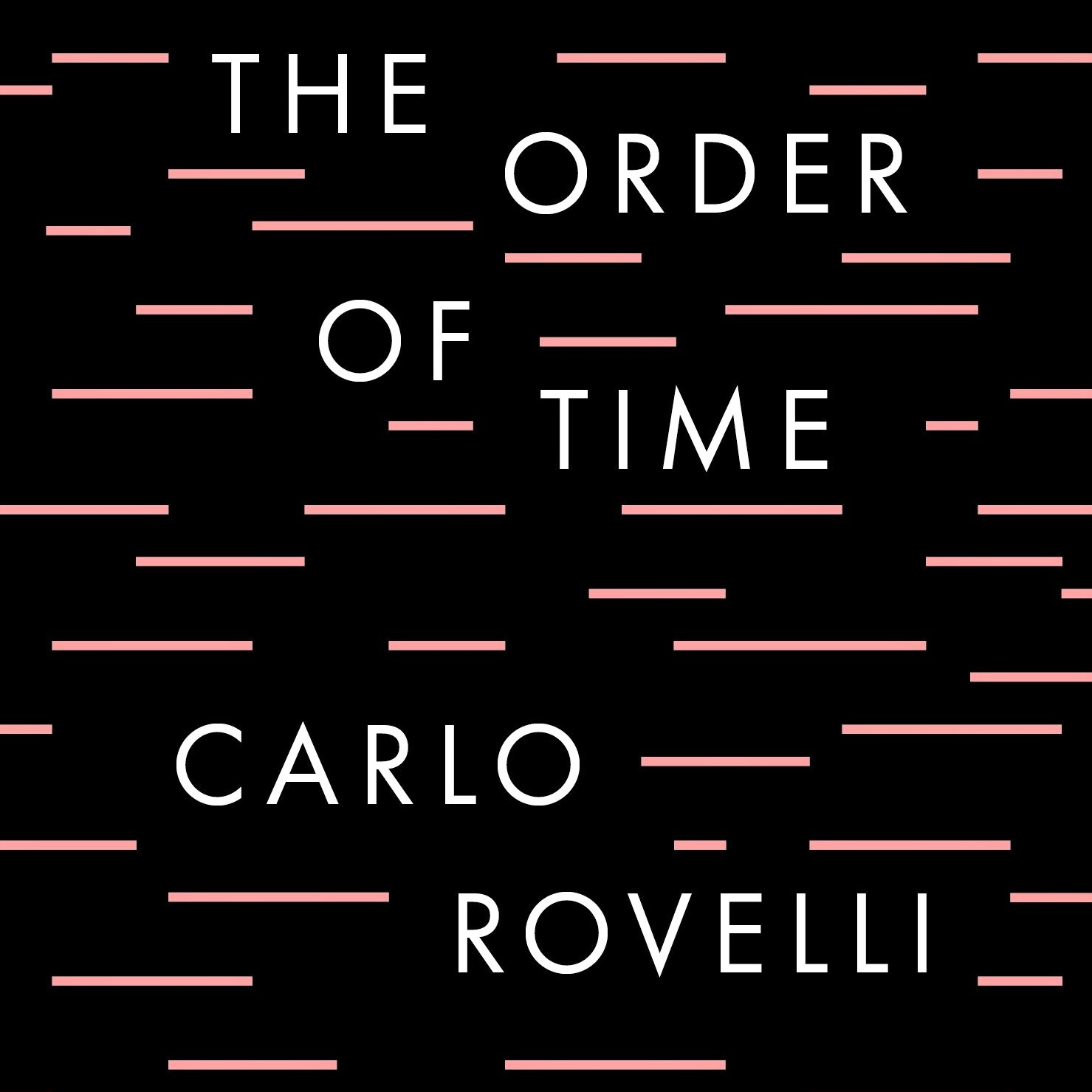Cover image of Carlo Rovelli's 'The Order of Time'