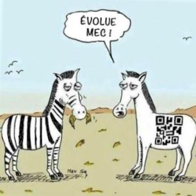 Cartoon: Wildlife evolving with technology