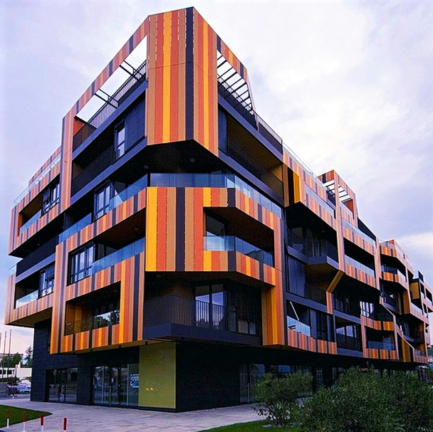 Architects are turning drab apartment buildings into sights to behold: Example 1