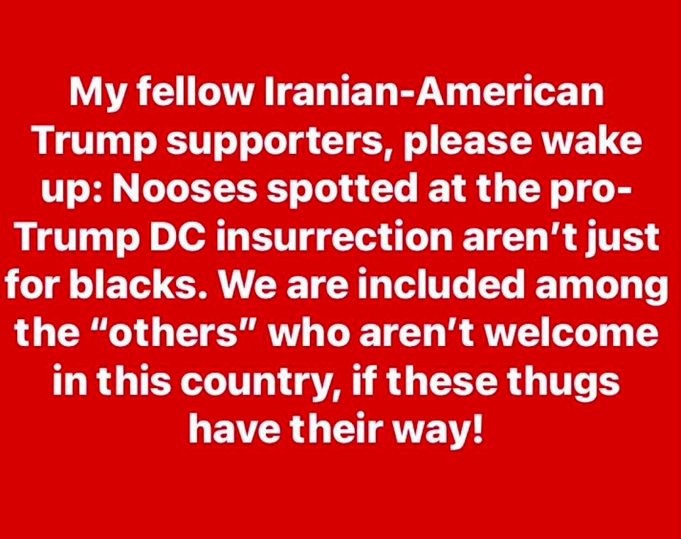 My message to fellow Iranian-Americans
