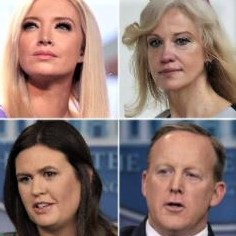 Unemployed liars, who may want to erase their association with Trump from their resumes