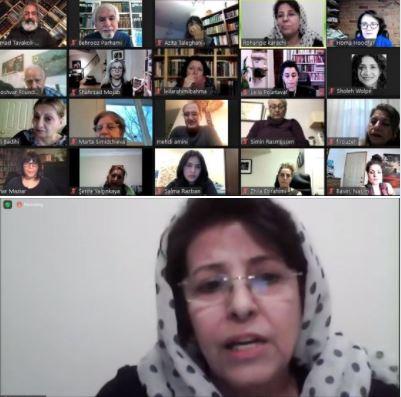 Webinar on history of Iranian women's poetry