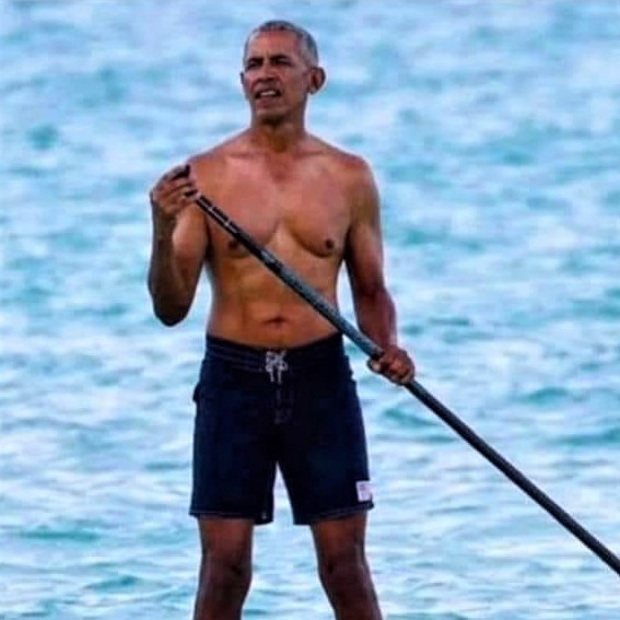 Comparing three Presidents with regard to fitness: 44