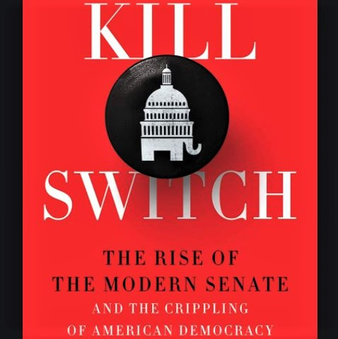 Cover image of Adam Jentleson's book, 'Kill Switch'
