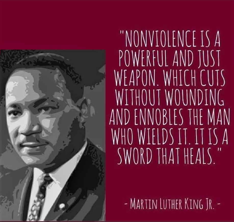 Meme: Quotation 1 from Dr. Martin Luther King