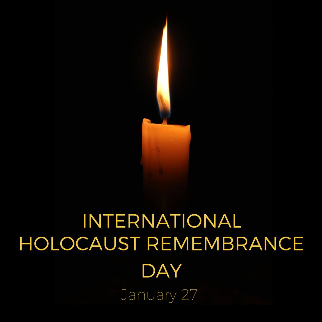Today is Holocaust Remembrance Day: Let's remember the atrocities and renew our 'never again' pledge!