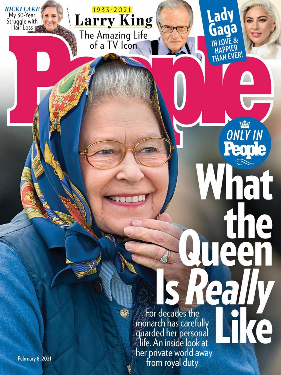 Magazine covers this week: People