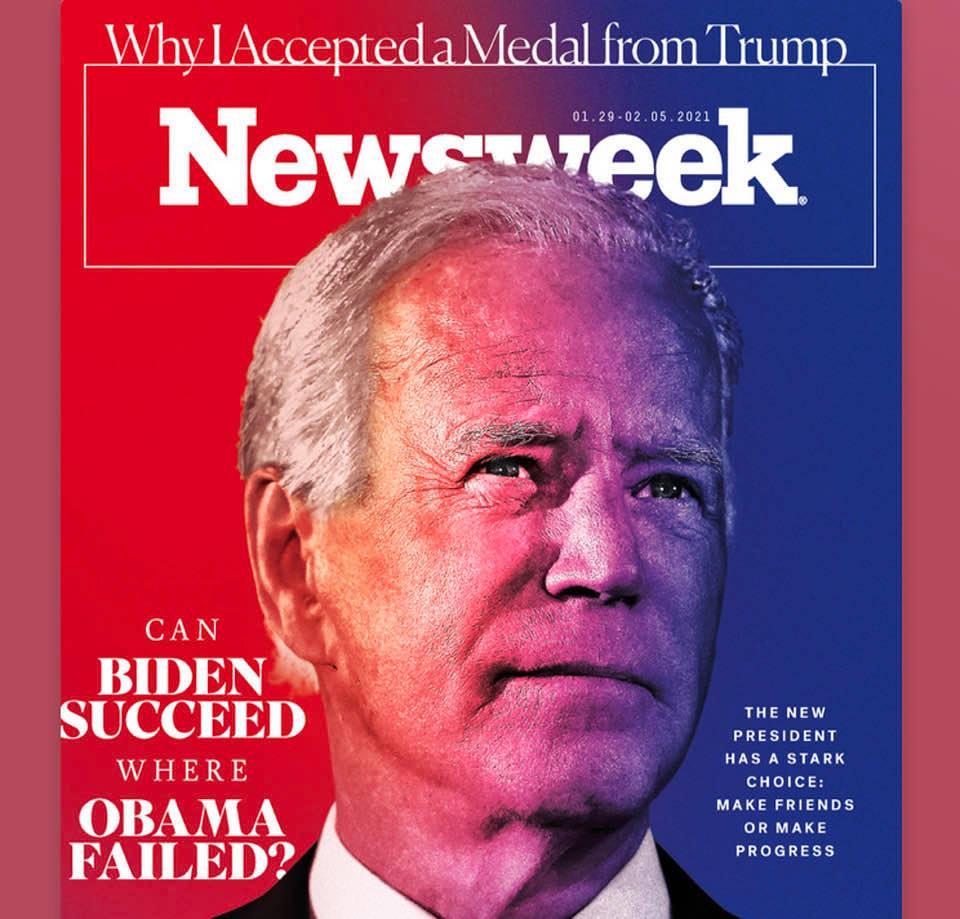 Magazine covers this week: Newsweek