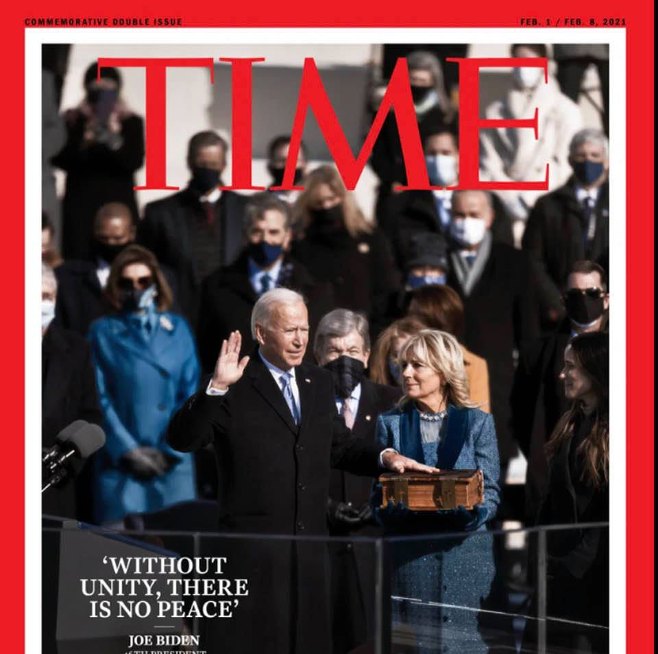 Magazine covers this week: Time