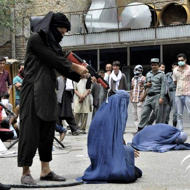 Taliban: The US was negotiating with this kind of barbaric and misogynistic extremists in Afghanistan under Trump.