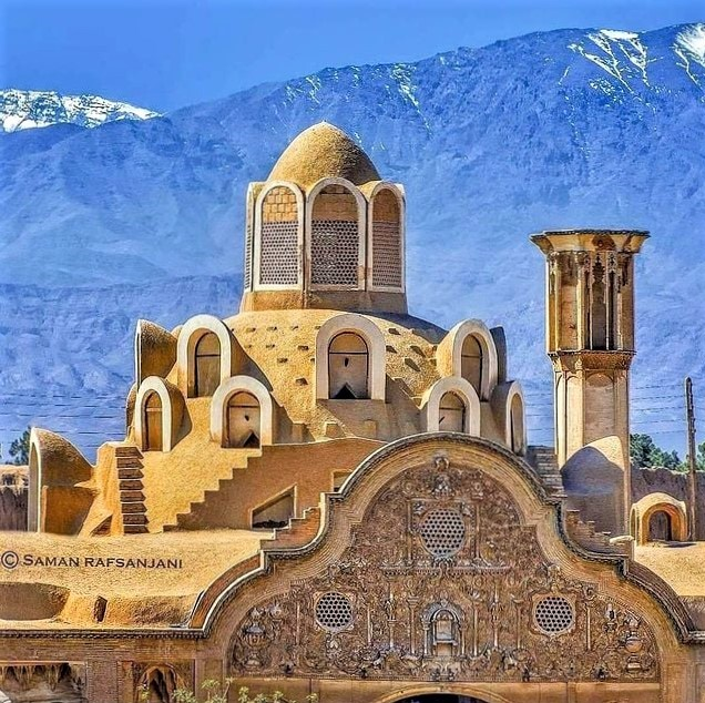 Iran's architecture: The Borujerdi House is a historic-house/museum in Kashan, Iran