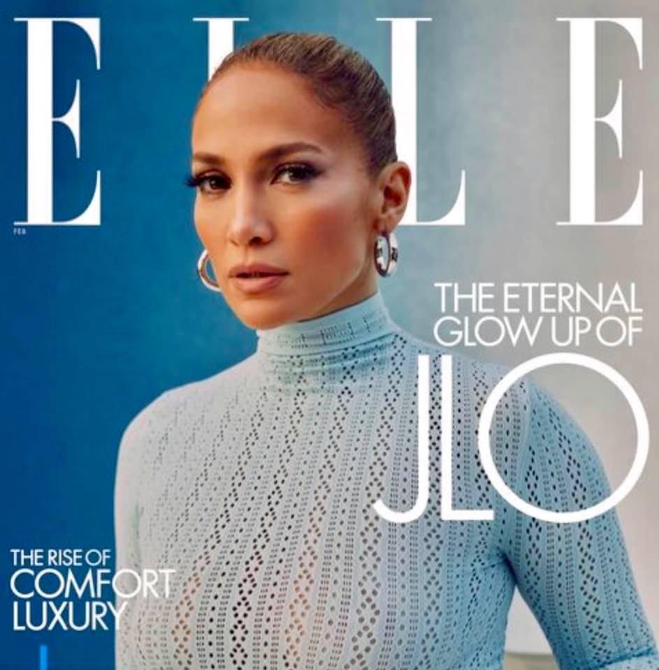 Magazine cover: Elle