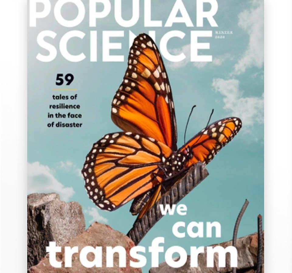 Magazine cover: Popular Science