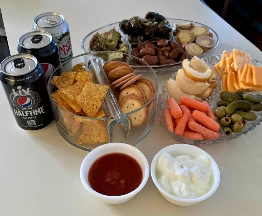 Super Bowl snacks: Check!
