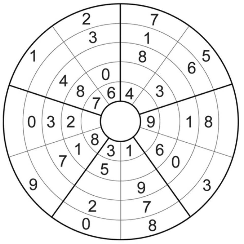 Circular Sudoku: Discover the rules and solve it
