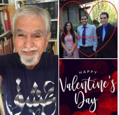 Happy Valentine's Day: Photos of me and my kids