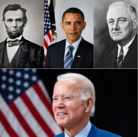 Happy Presidents' Day: On this day, we celebrate caring and competent individuals who have served in our country's highest office