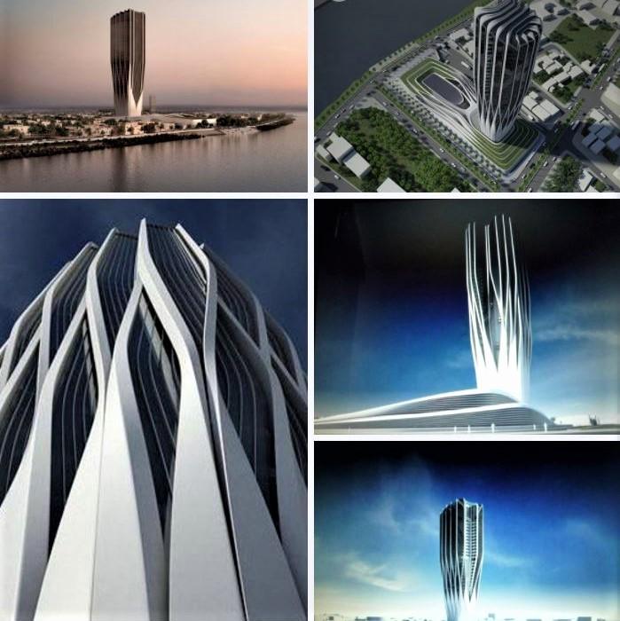 Iraq's Central Bank, by architect Zaha Hadid