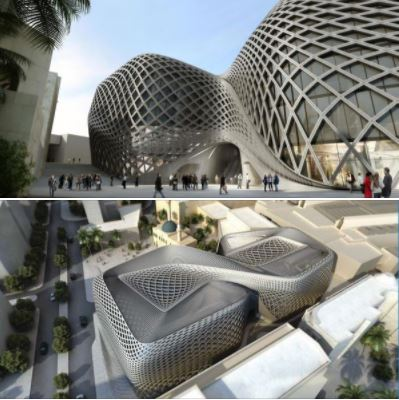 Souks Department Store in Beirut, by architect Zaha Hadid