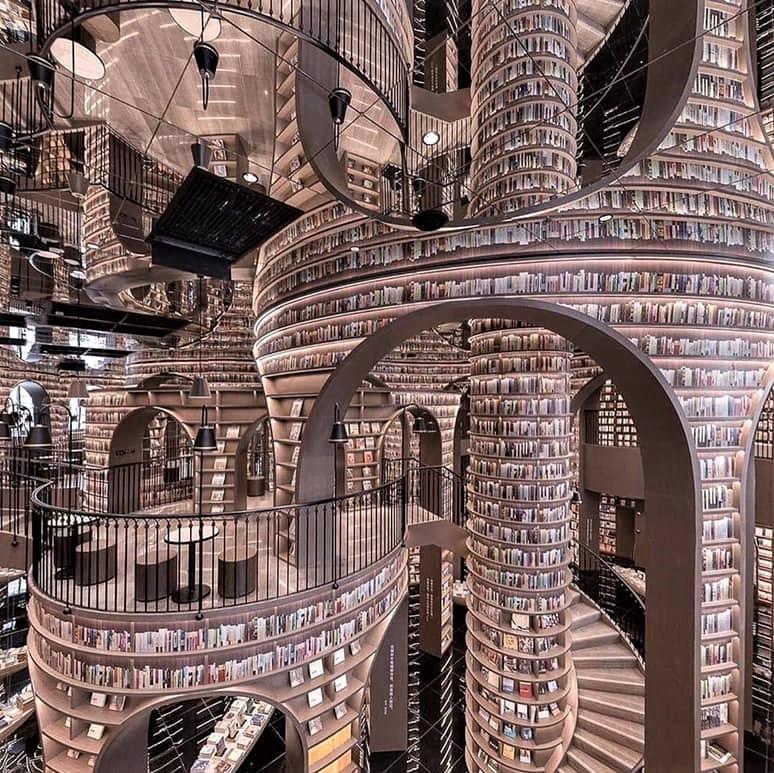 A book-lover's paradise: Zhongshuge Bookstore in Dujiangyan, China