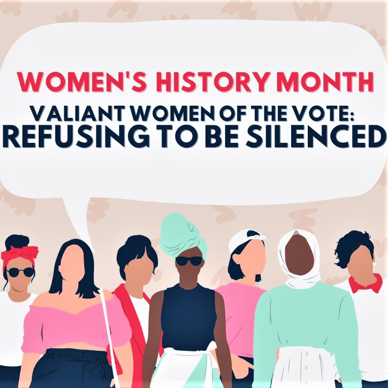 Women's History Month begins today
