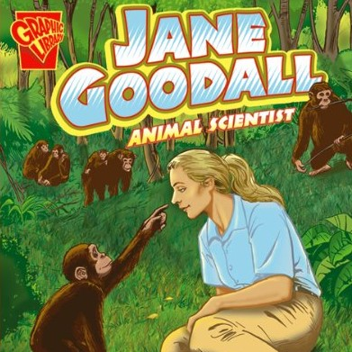 Cover image of the young-adult book 'Jane Goodall: Animal Scientist'