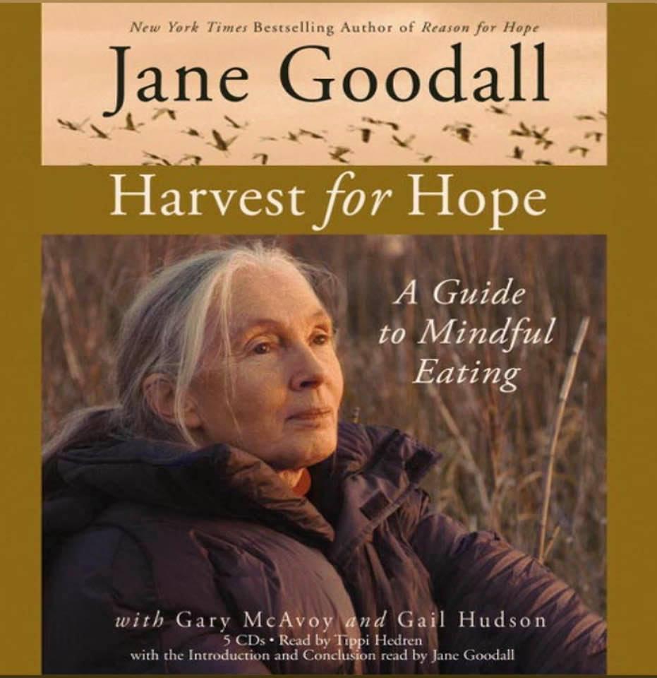 Cover image for Jane Goodall's 'Harvest for Hope'